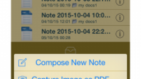 FileNotes app further improved